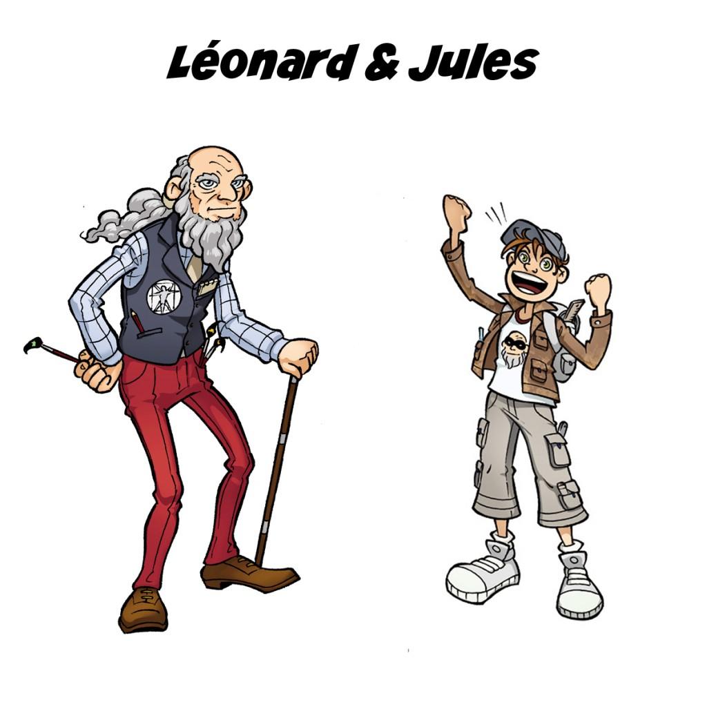 Léonard & Jules by Samuel Ménétrier
