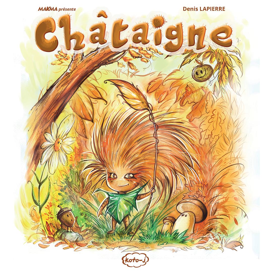 Couverture de Châtaigne - Flibusk - Koto-J