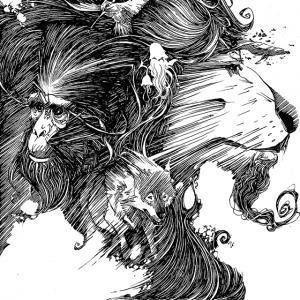 De Creaturis Dementiae, couverture originale (Dessin : Ben Basso) - Flibusk