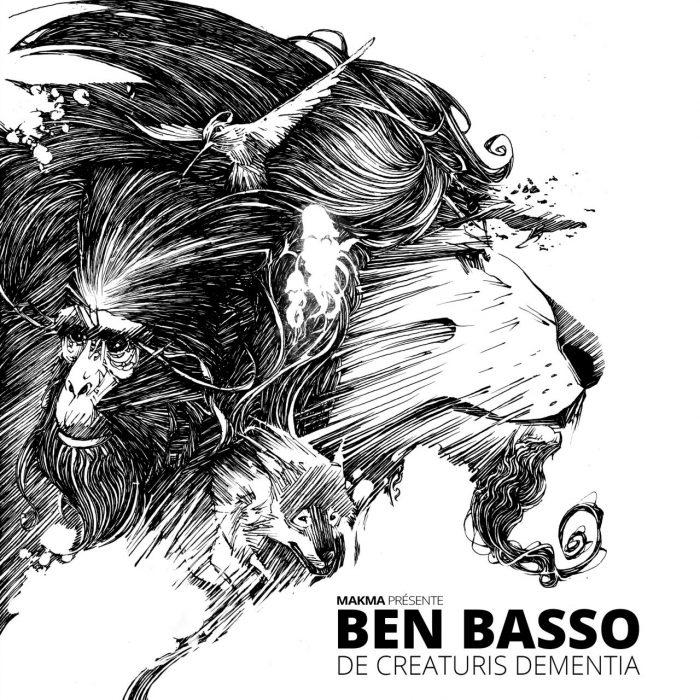 De Creaturis Dementiae, couverture du livre (Dessin : Ben Basso) - Flibusk