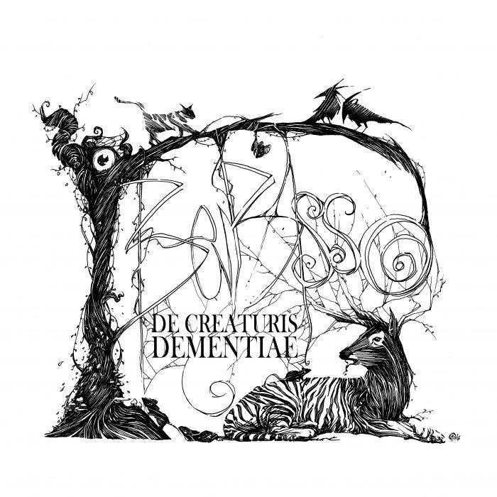 De Creaturis Dementiae - Page titre (Dessin : Ben Basso) - Flibusk
