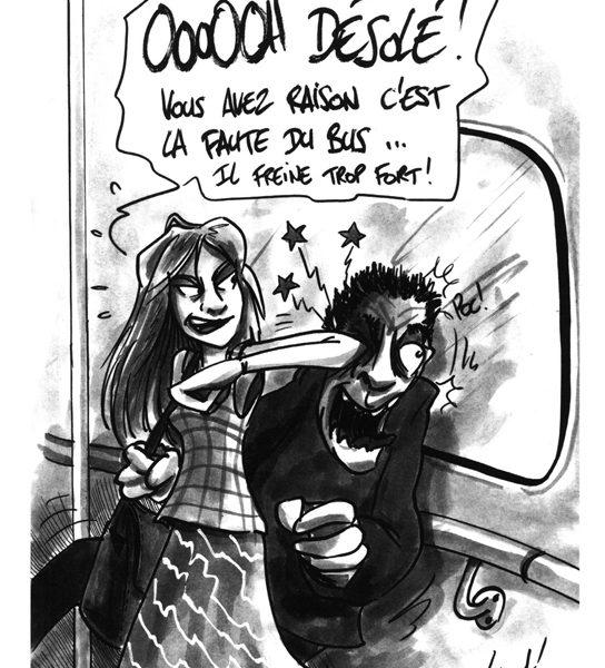 urcents - Petites chroniques du sexisme ordinaire - page 120 (Dessin : Visant) - Flibusk