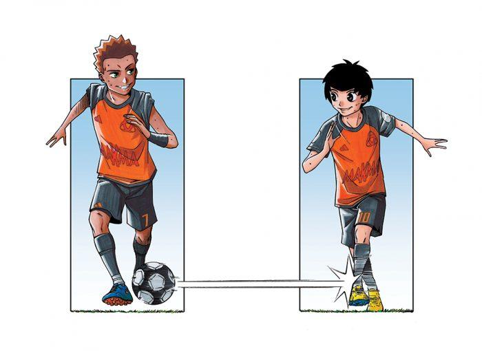 Hugo et Majid de L'Équipe Z