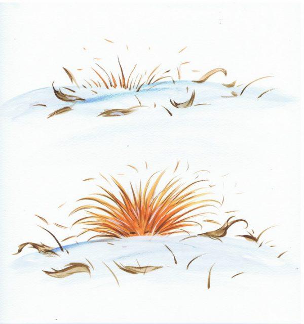 Châtaigne et les Zombinons - page 2 (Dessin : Denis Lapierre) - Flibusk