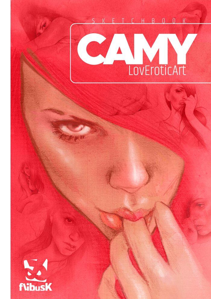 Camy - LovEroticArt, couverture (Dessin : Camy) - Flibusk
