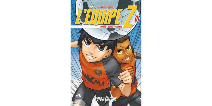 L'Équipe Z, couverture